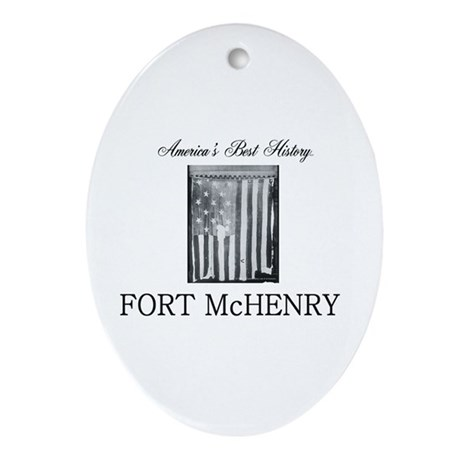 ABH Fort McHenry Oval Ornament
