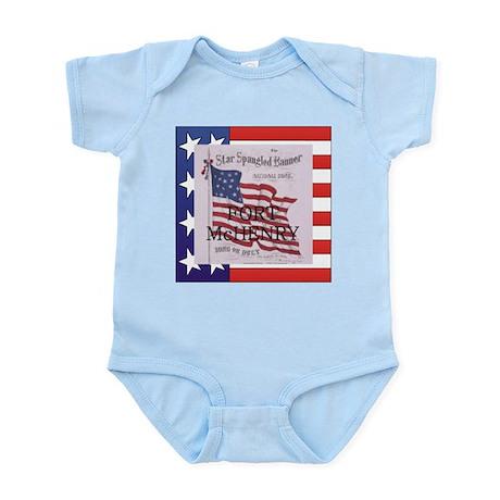 ABH Fort McHenry Infant Bodysuit