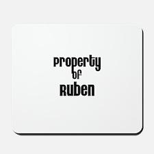 Property of Ruben Mousepad