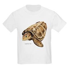 Loggerhead Turtle Kids T-Shirt