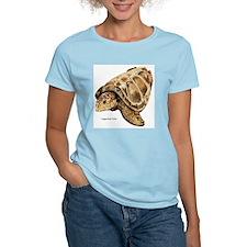 Loggerhead Turtle Women's Pink T-Shirt