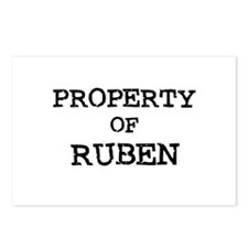 Property of Ruben Postcards (Package of 8)