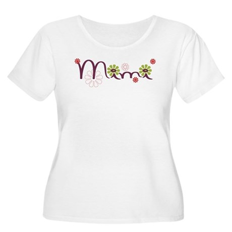 Mimi Women's Plus Size Scoop Neck T-Shirt