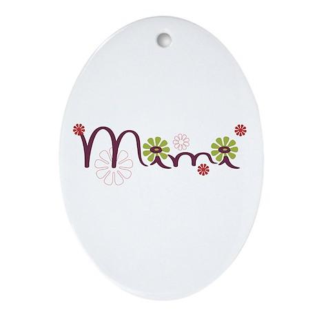 Mimi Ornament (Oval)