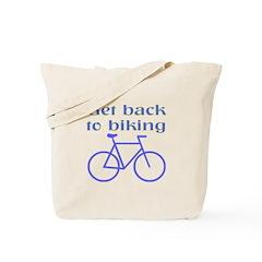 Biking Tote Bag
