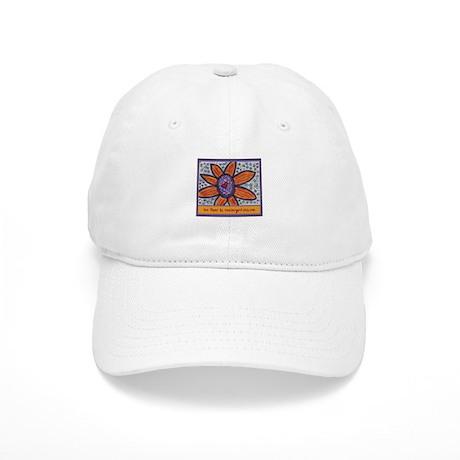 ACEO Orange/Yellow Flower Cap