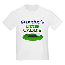 Grandpa's Caddie Golf T-Shirt