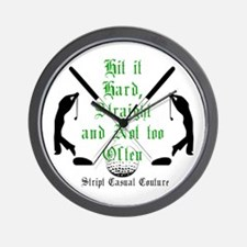 Golf Quote Wall Clock
