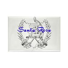 Santa Rosa Rectangle Magnet