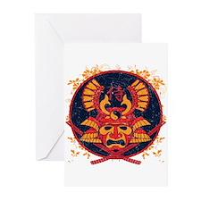 Samurai Stamp Greeting Cards (Pk of 20)