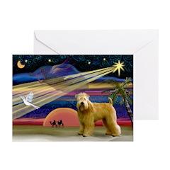 XmasStar/Wheaten (#2) Greeting Cards (Pk of 20)