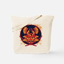 Samurai Stamp Tote Bag