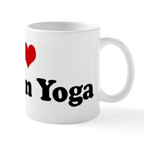 I Love Bikram Yoga Mug