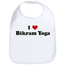 I Love Bikram Yoga Bib