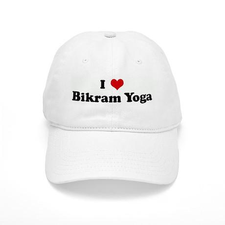 I Love Bikram Yoga Cap