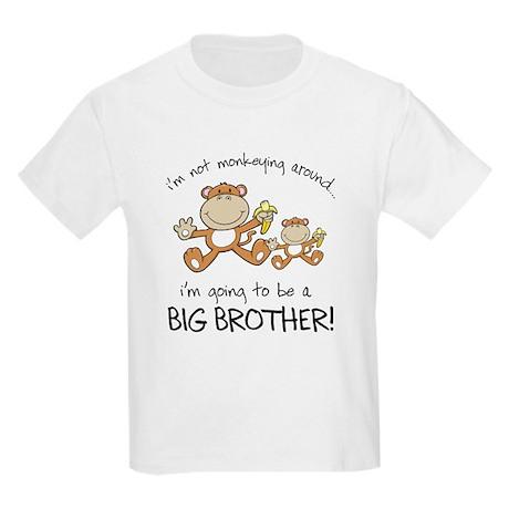 big brother t-shirts monkey Kids Light T-Shirt