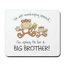 big brother t-shirts monkey Mousepad