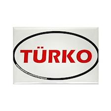 Turko Rectangle Magnet