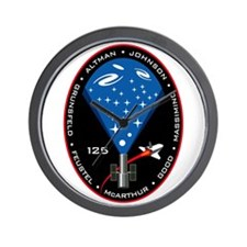 STS-125 Hubble Repair Mission Wall Clock