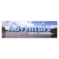 Adventure before Dementia (Bumper Sticker)