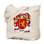 Bertin Family Crest Tote Bag