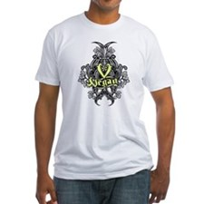 Just Vegan / fleur de Lis T-Shirt