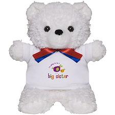 big sister t-shirts birdie Teddy Bear