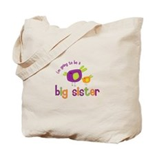 big sister t-shirts birdie Tote Bag