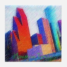 HOUSTON, TEXAS - ART Tile Coaster