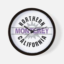 Monterey California Wall Clock