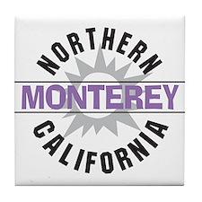 Monterey California Tile Coaster