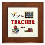 Teachers Do It With Class Framed Tile