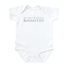 Coolest Girls Kansas City Infant Creeper