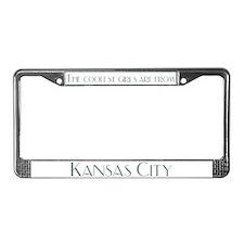 Coolest Girls Kansas City License Plate Frame