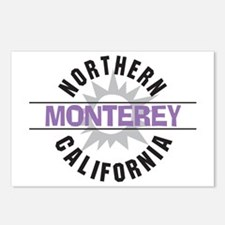 Monterey California Postcards (Package of 8)