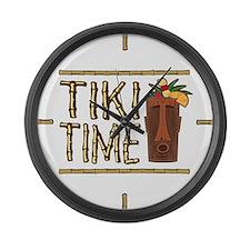 Tiki Time - Giant Clock