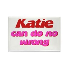 Katie Can Do No Wrong Rectangle Magnet