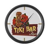 Tiki bar Giant Clocks