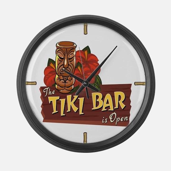 Tiki Bar is Open II - Giant Clock