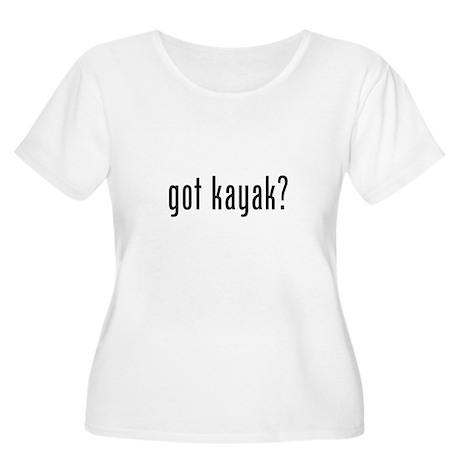 got kayak? Women's Plus Size Scoop Neck T-Shirt