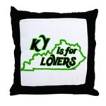 KY is for Lovers Throw Pillow