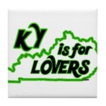 KY is for Lovers Tile Coaster