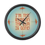 Tiki Giant Clocks