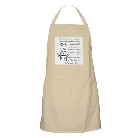 Character St. Benedict BBQ Apron