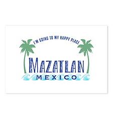 Mazatlan Happy Place - Postcards (Package of 8)
