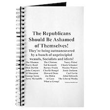 """Shame on Republicans"" Journal"
