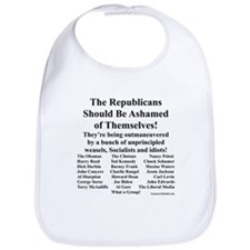 """Shame on Republicans"" Bib"