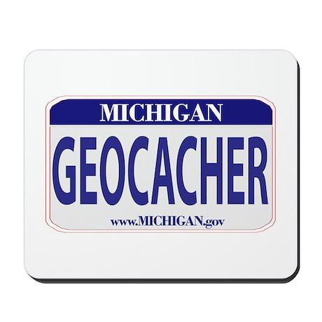 Geocacher Michigan Mousepad