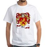 Blanc Family Crest White T-Shirt