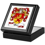Blanc Family Crest Keepsake Box